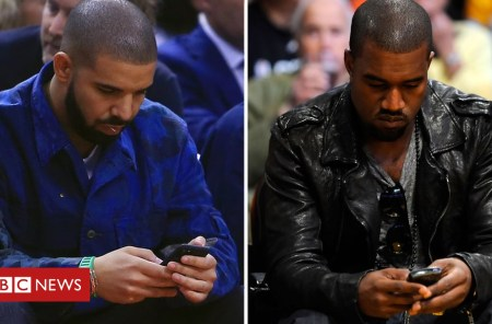 104800014 kanyedrake - Kanye West vs Drake: What's the story behind their war of words (and emojis)?