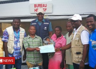 104808338 ebola baby - 'Miracle' six-day-old baby survives Ebola
