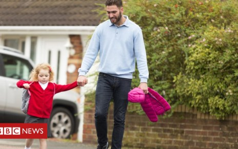 104843698 dad d - Raising girls 'changes fathers' views on gender stereotypes'