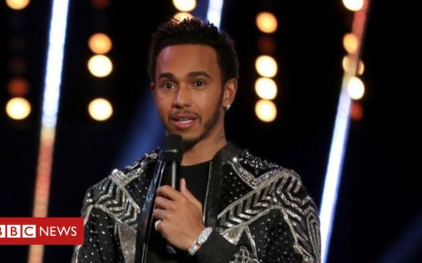 104856823 lewis - Sports Personality 2018: Lewis Hamilton 'used wrong words'