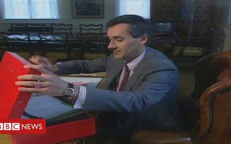 104862563 redwoodarchivebbc - Ex-Welsh secretary Redwood opposed national ID card plans