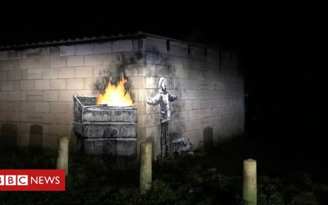 104872289 banksybecca - Everyone is asking: Is Port Talbot artwork by Banksy?