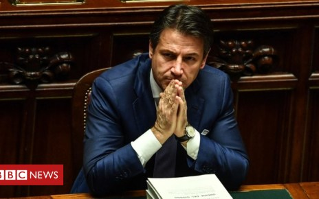 104986039 conteafp - Italy budget: Parliament passes budget after EU standoff