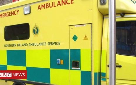 98464000 ambulancedsc03016 - Three Northern Ireland ambulance staff attacked by patient