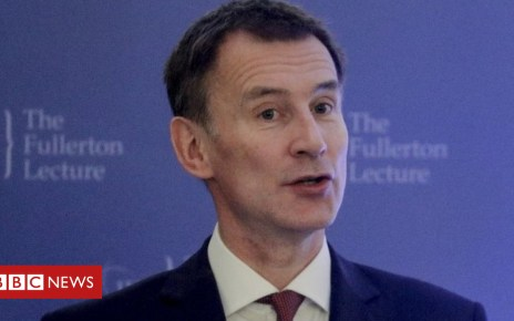 105031432 mediaitem105031138 - Brexit: Jeremy Hunt says UK 'can learn lessons' from Singapore
