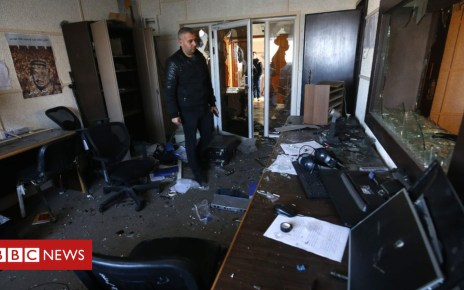 105074371 hi051440900 - Five arrested after Palestinian Broadcasting Corporation raided