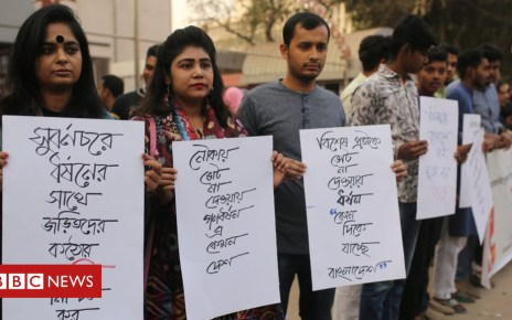 105080635 gettyimages 1077385364 - Bangladesh election: 'Gang rape' suspects detained