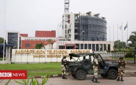 105085564 gabon25 - Gabon coup attempt: Two army rebels 'killed'
