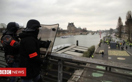 105086373 051457551 1 - French Gilets Jaunes: Ex-boxer detained by police over assault