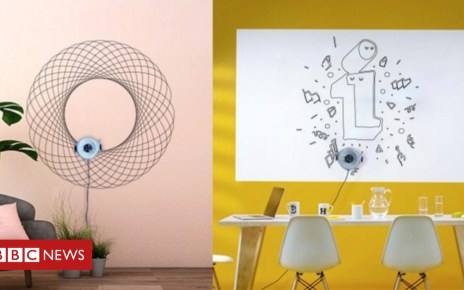 105113105 46807786 - CES 2019: The robot that draws on walls