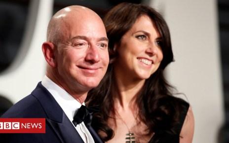 105119757 jeffandmackenziebezos - Amazon boss Jeff Bezos, world's richest man, and wife MacKenzie divorce