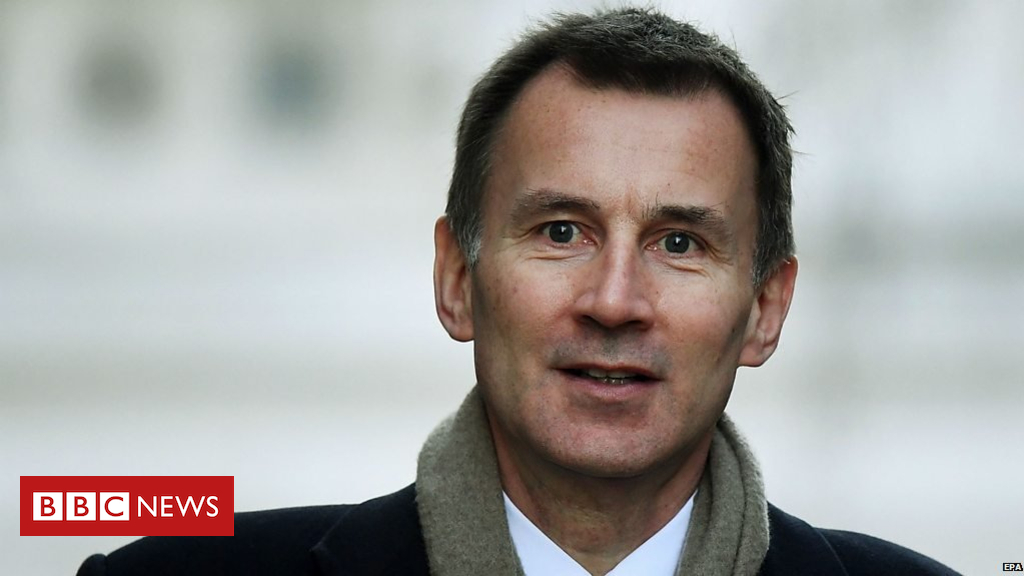 105143459 p06xt5rc - Jeremy Hunt: Speaker 'frustrating' government