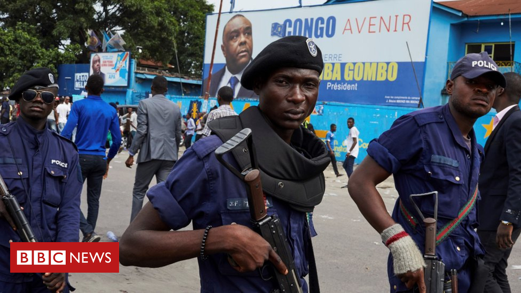 105159701 mediaitem105159698 - DR Congo election: Police deploy near home of candidate Martin Fayulu