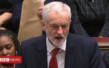 105198493 p06y5n98 - Jeremy Corbyn tables no confidence motion