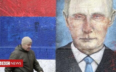 105201874 051652841 1 - Putin warns West on Balkans as Serbia prepares lavish welcome