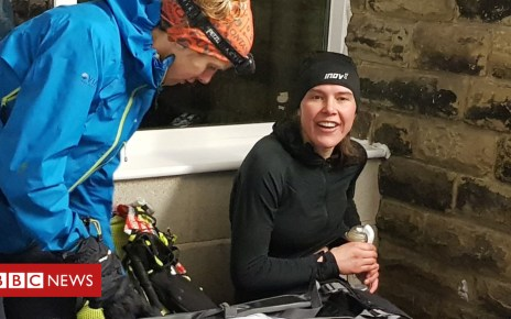 105221194 breast - Nursing mother smashes 268-mile Montane Spine Race record