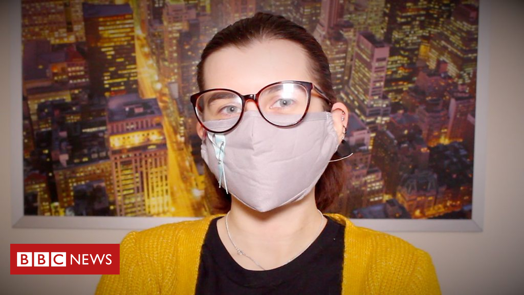105232798 p06yftxv - 'I wear a mask to prevent cold allergy reaction'