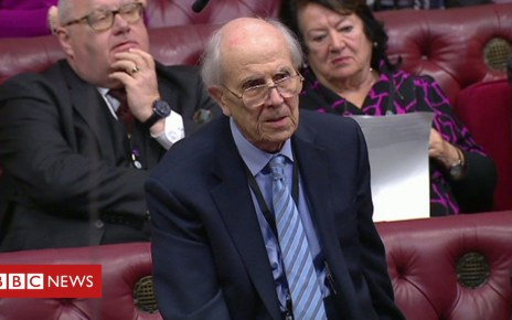 105330533 tebbit - Lord Tebbit reprimanded by Lords chief whip for interruption