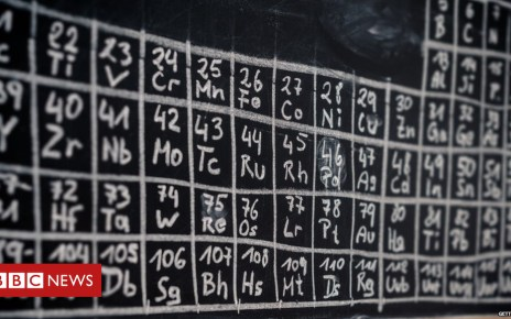 105369453 gettyimages 174949083 - Periodic table turns 150