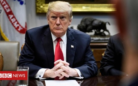 105371465 tv051912038 - Trump sceptical a deal on border wall can be reached