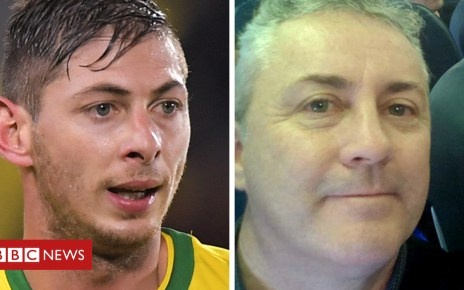 105404000 sala comp - Emiliano Sala: Seabed search for plane off Guernsey