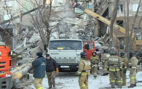 p06wwppx - Magnitogorsk: Death toll rises after block of flats explosion