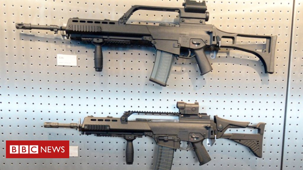 101577104 gergunsg36afp7may15 - Heckler & Koch fined for illegal gun sales to Mexico