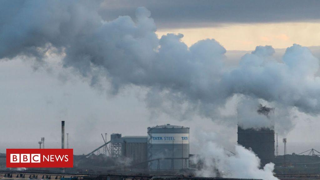 104597683 tatasmoke - £35m research hub to make steel industry carbon-neutral