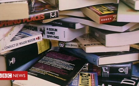 104721991 bookpile - The shop where books are free - from Harry Potter to maths texts