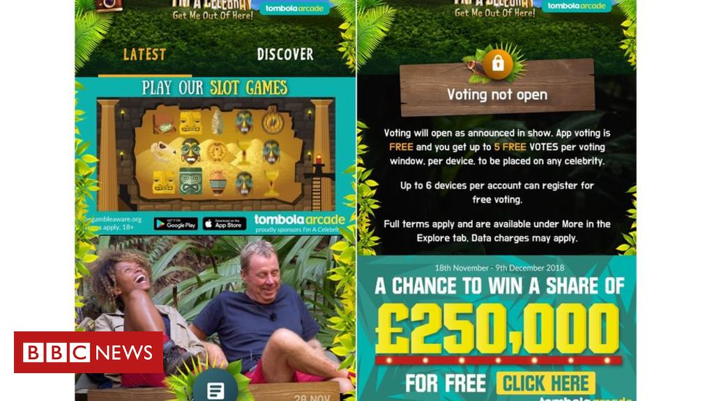 105475188 5017f9f2 180a 4f62 b357 f7bc2b402422 - I'm A Celebrity app's gambling ads criticised