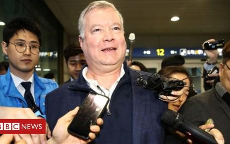 105482794 mediaitem105482792 - North Korea nuclear talks: US envoy Biegun heads to Pyongyang