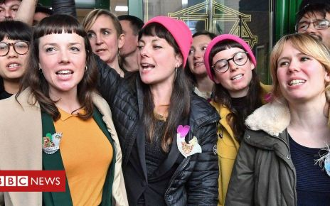 105543372 hi052133098 - Stansted 15 activist: 'Relieved we're not going to prison'