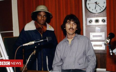 105552939 7a97fec2 6a0e 49a6 b703 bb549412eda5 - Michael Jackson and George Harrison: Rare radio interview restored