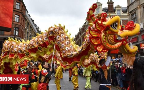 105593007 mediaitem105593006 - Chinese New Year: Pigs, dragons and pandas on England's streets