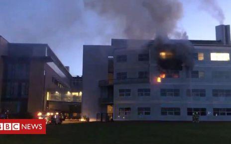 105593412 0e3aa81f b118 4d4c bc8c e4b07912d888 - Blaze at St Andrews University science building