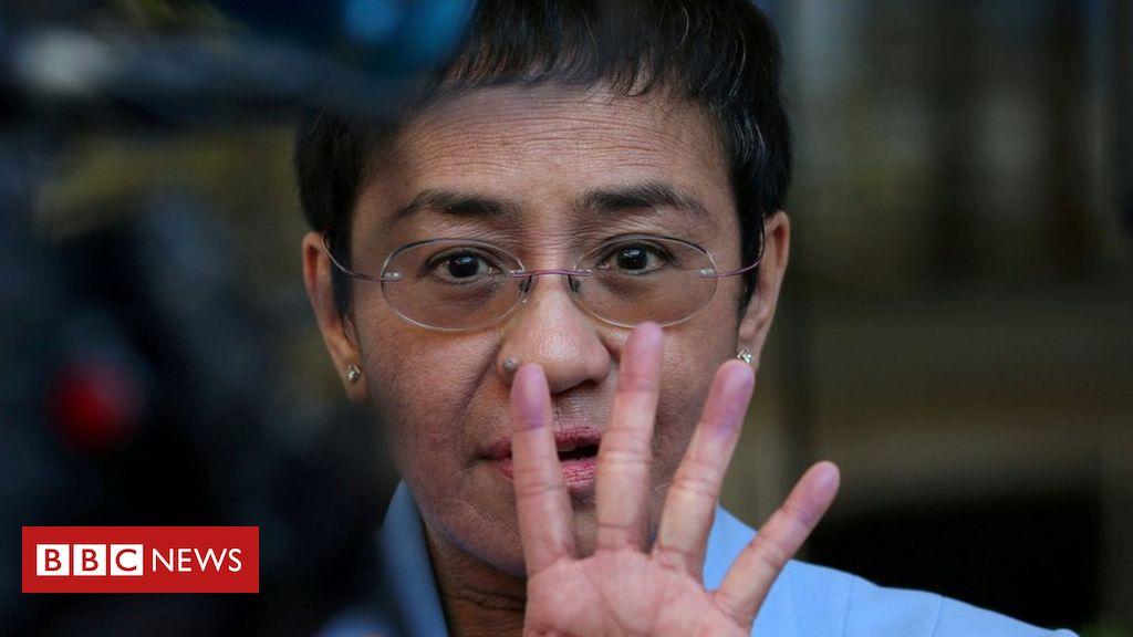 105629470 80744a10 0f2c 4342 8d97 c75cf006157e - Maria Ressa: Head of Philippines news site Rappler arrested