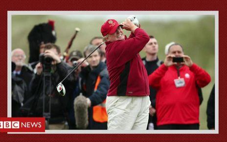 105640178 p070xx38 - Trump installs $50,000 golf simulator in the White House