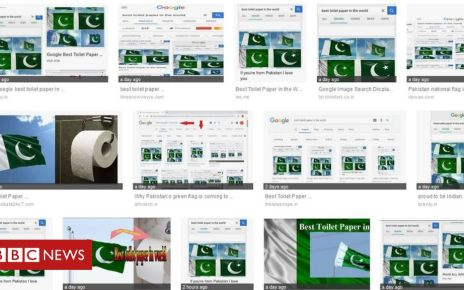 105689131 a8540688 7fdb 4afe 858c 180077f4f46b - Google searches 'hijacked' to link Pakistan flag to toilet paper