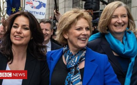 105727249 p071htsc - Independent Group: Three Tory MPs resign to join group