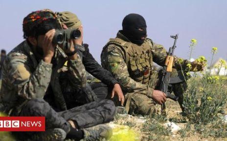 105748205 5f7c3640 ad25 468e 8b44 72427526e95b - Syria war: US to leave 200 troops for peacekeeping after withdrawal