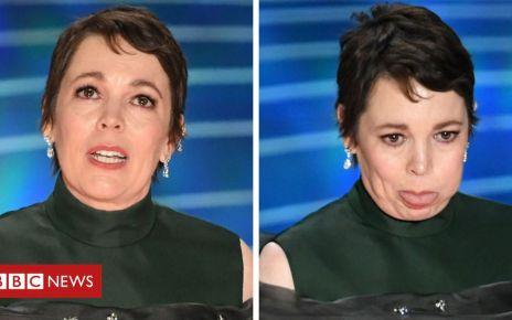105776042 colman - Oscars 2019: Olivia Colman and Green Book spring surprise wins