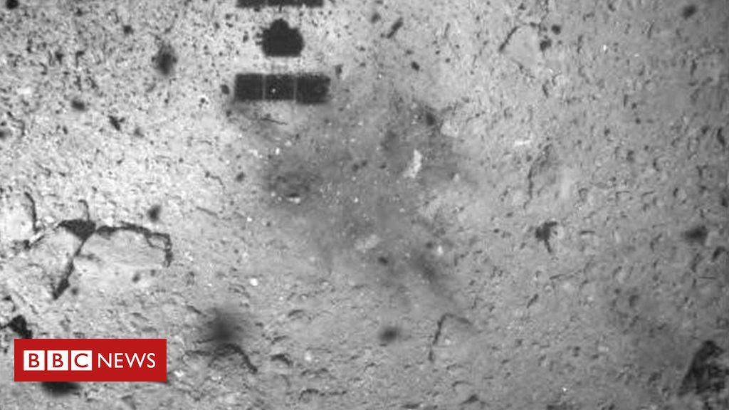 105781821 mediaitem105781820 - Hayabusa 2: Asteroid image shows touchdown marks