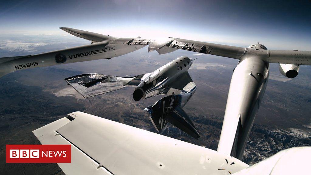 105791030 p071wvlg - Virgin Galactic: Scots-born pilot rockets into space
