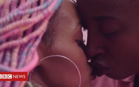 101069272 kiss - Fespaco: Banned lesbian love story Rafiki wins award