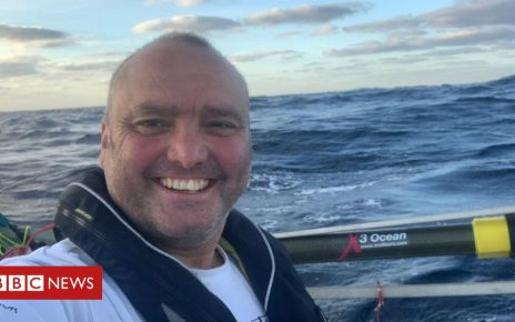 105315346 leespencer - Lee Spencer: Amputee Marine from Devon breaks Atlantic row record