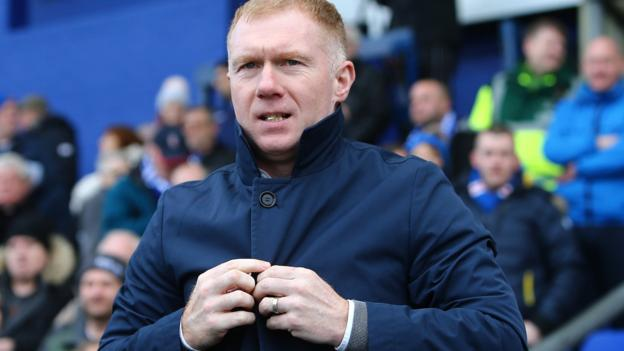 105677666 scholes - Paul Scholes: Former Manchester United and England midfielder leaves role as Oldham Athletic manager