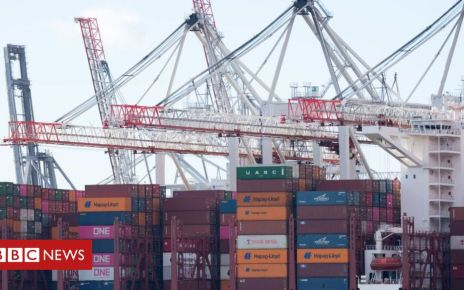 105906437 containersgetty - UK may slash trade tariffs under a no-deal Brexit