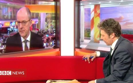 105956450 mediaitem105956449 - Schools minister Nick Gibb MP challenged over funding by BBC's Charlie Stayt