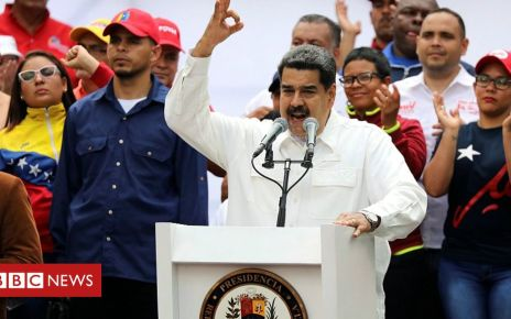 105961920 052842744 - Venezuela's Maduro thanks military for defeating 'coup'