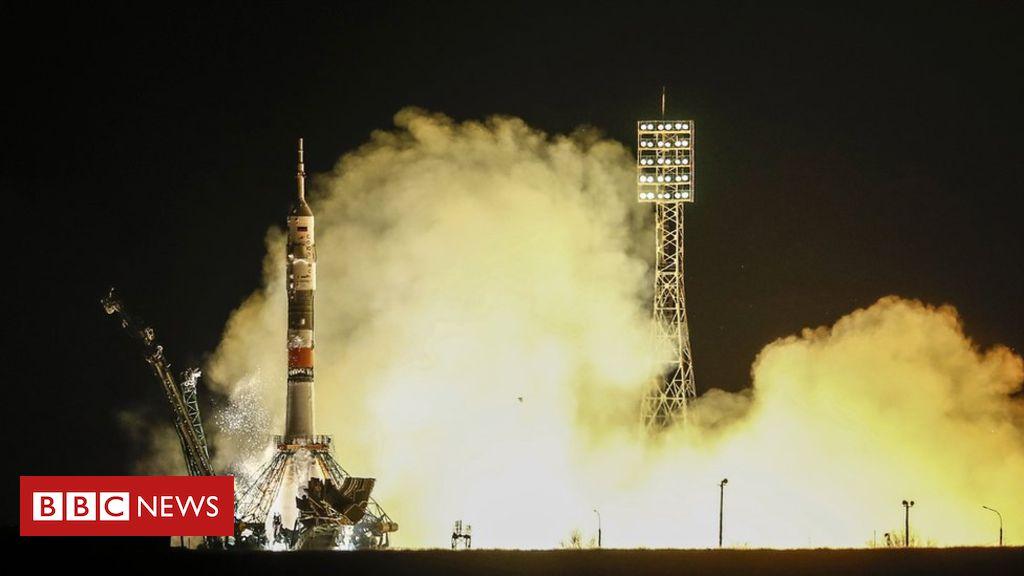 106029741 c6769ad6 8e55 446c a5fa da8d59b636f0 - Astronauts who survived Soyuz breakdown blast off to ISS